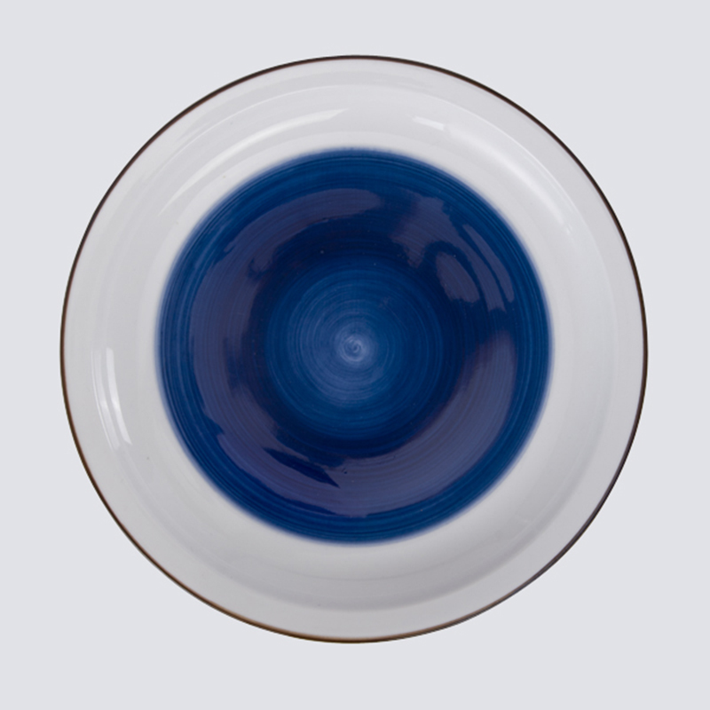 Top quality porcelain soup plate for buffet serving Banquet hall