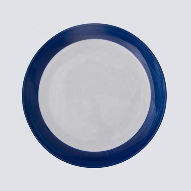 High Temperature firing Banquet hall ceramic plate for sublimation printing baking
