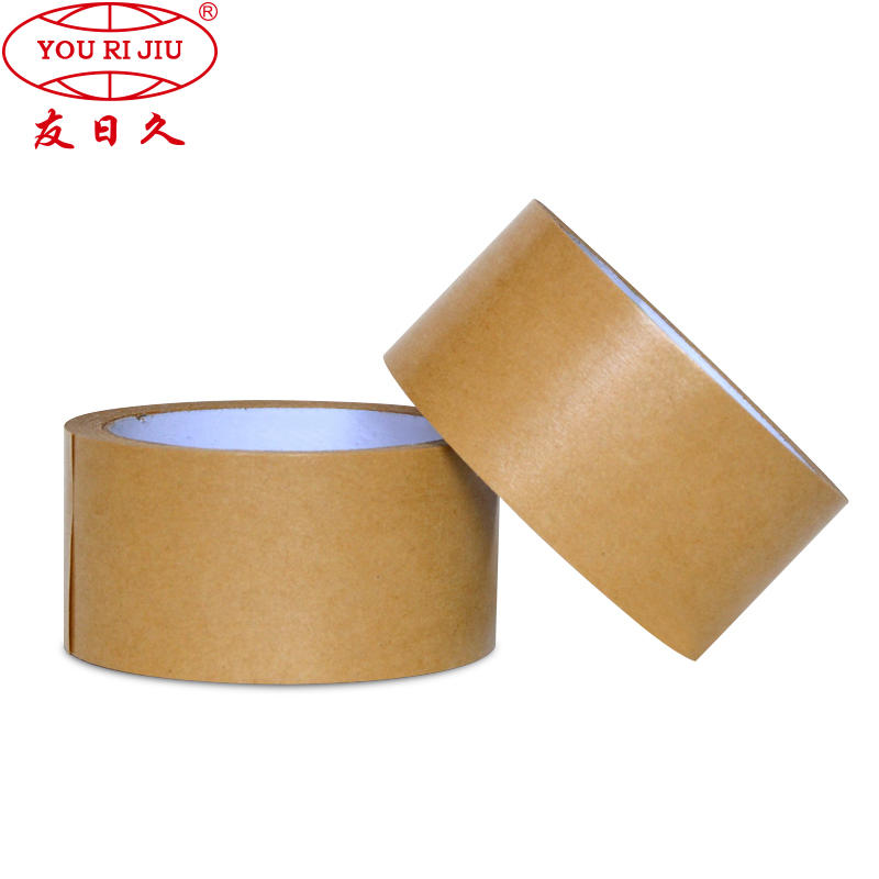 Kraft Paper Material and Hotmelt Adhesive Type Kraft Paper Tape