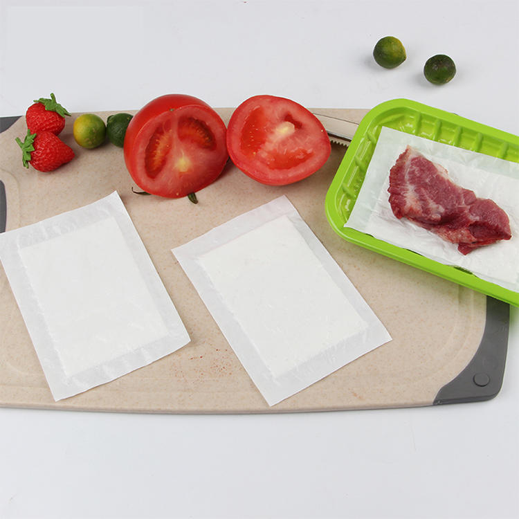 Keeps food dry clean and convenient water absorbent pad non woven meat pads