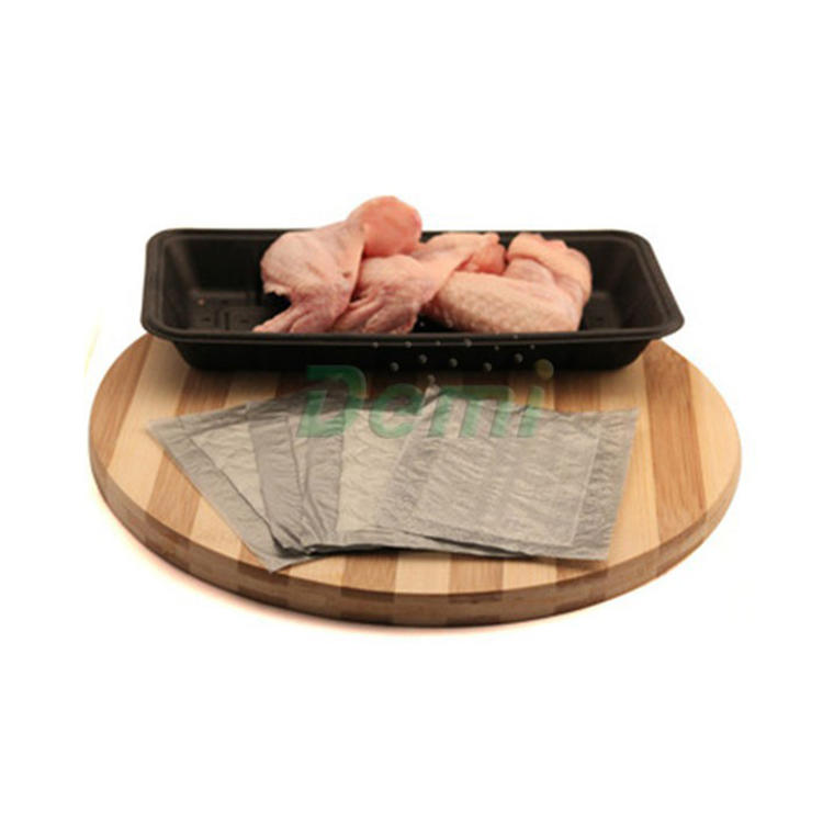 High Performance Absorbent Meat Poultry Tray Pads Meat Pad