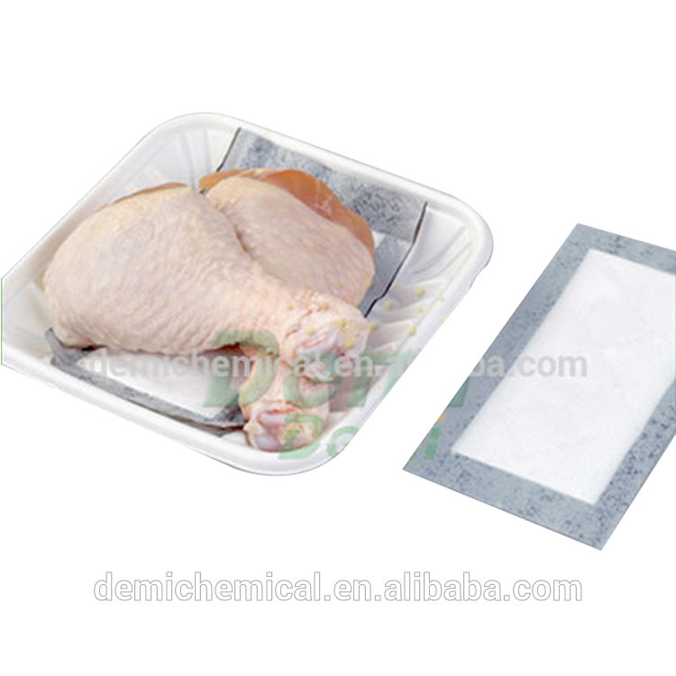 Customized Size Food Liquid Absorbent Meat Pad, Meat Blood Absorbent pad