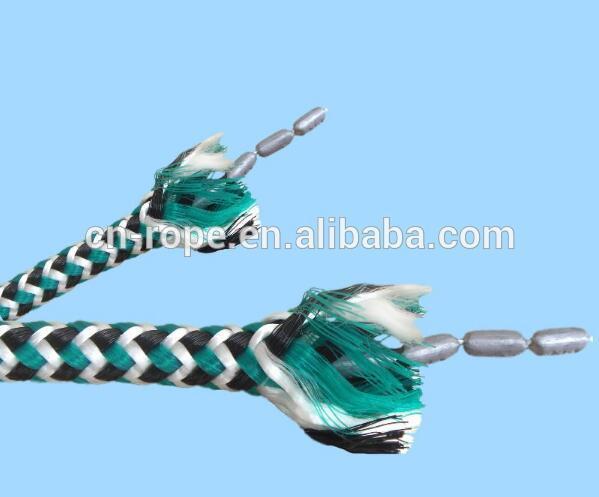 lead rope braid rope fishing Marine lead core rope fishing