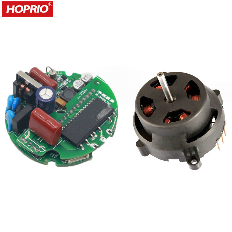 HOPRIO 220V 80W 110W BLDCHair DryerBrushless Motor with Controller Driver