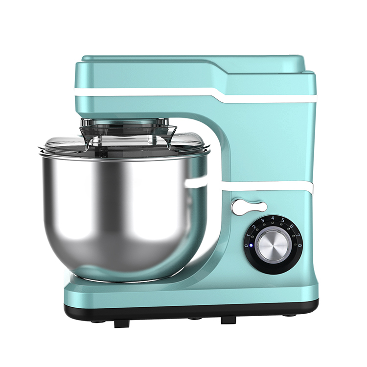 6l stand food mixer automatic food transparent splash cover mixer stainless steel