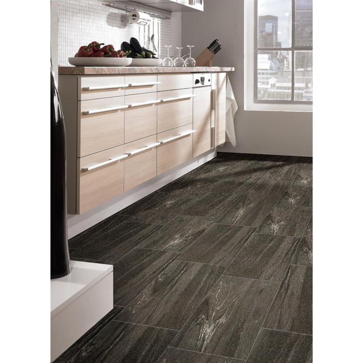 Liquid lava floor tile