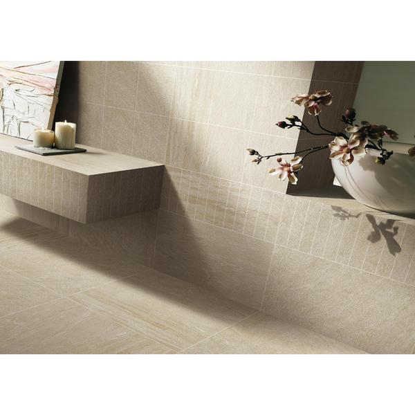 Tile manufacturers stone look ceramic tile