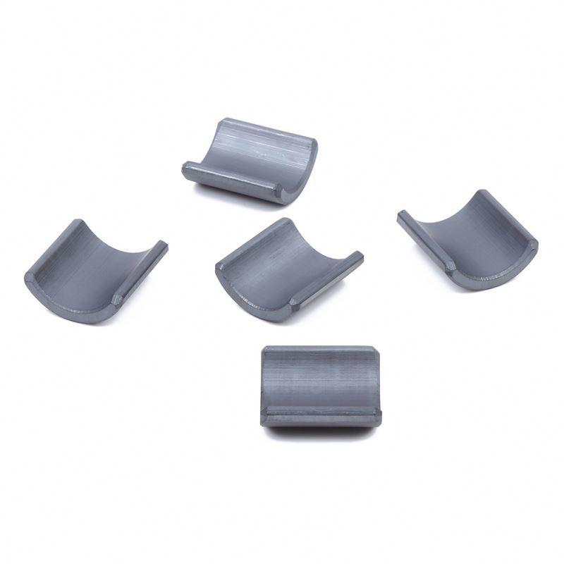 Sintered Segment Arc Ferrite Magnets