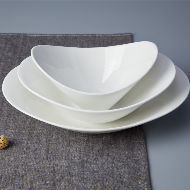 Most popular restaurant use china porcelain salad bowl
