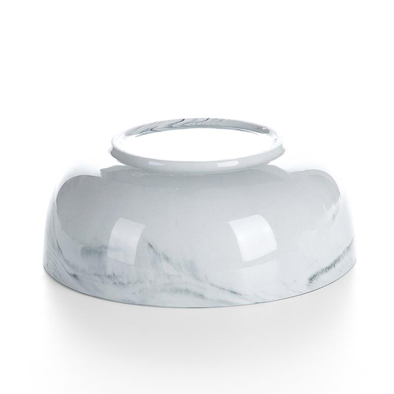 Best Selling Gold Rim Grey Luxury Marble, Hotel Supplies Gold Rim Japanese Soup Bowl, Restaurant Porcelain Soup Bowls#