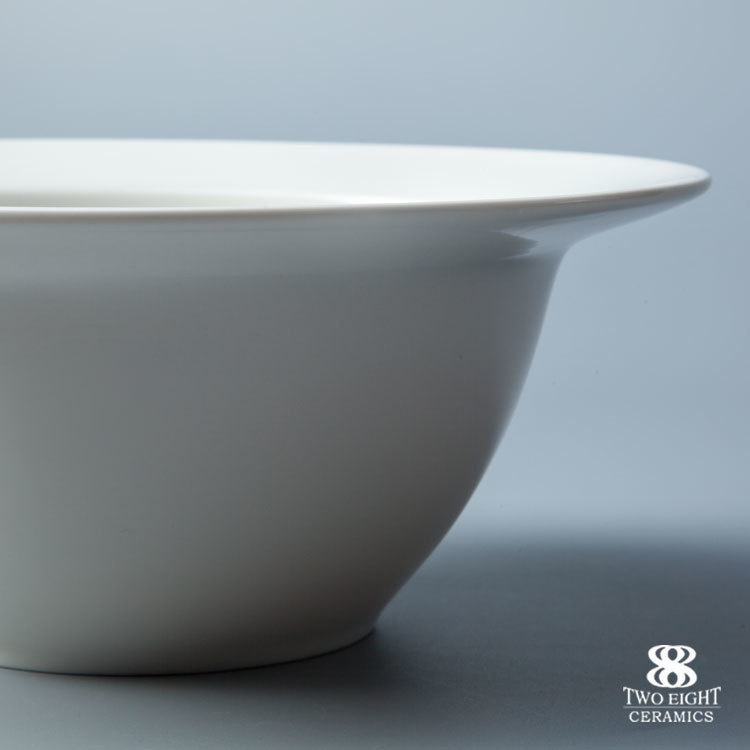 2017 hotel and restaurant dinnerware ceramic salad bowl