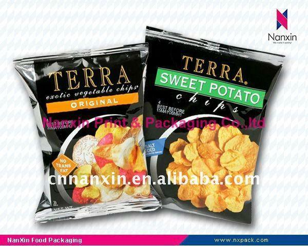Food packaging bag Potato Chips packaging pouch