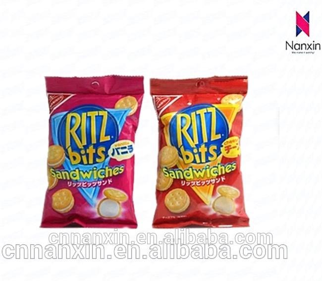 food grade snack potato chips packaging aluminum foil back seal bag