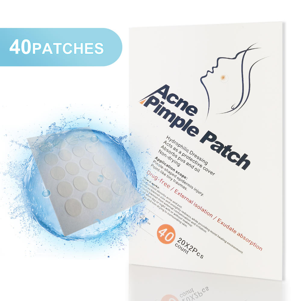China acne pimple patch Invisible absorbing spot dressing hydrocolloid acne patch
