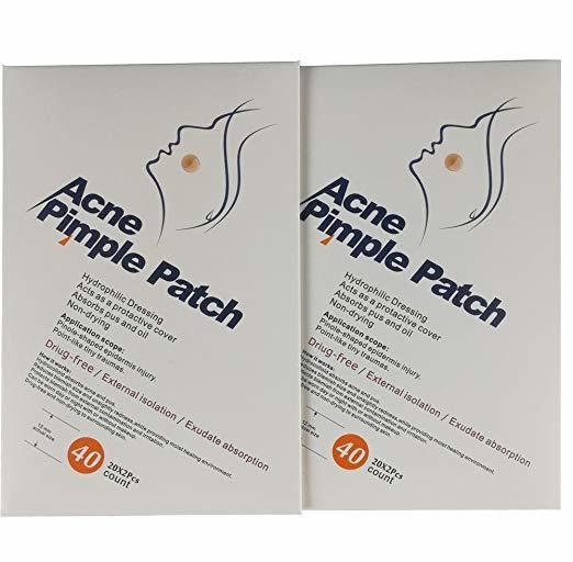 Waterproof Pimple Stickers Hydrocolloid Acne Pimple Patch