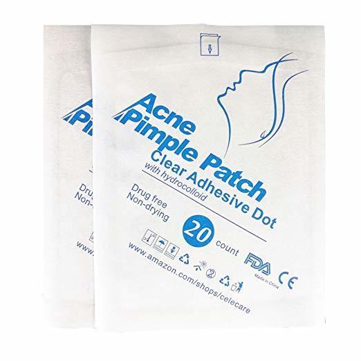 Best Seller Hydrocolloid Acne Patch 20 Count a Piece Oils Acne Spots Stickers Blemish Patch