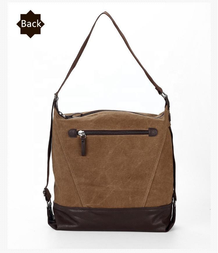 2019 Top Quality Casual Vintage Shoulder Handle Daily Bags Purse Women Handbags Canvas Tote Handbag