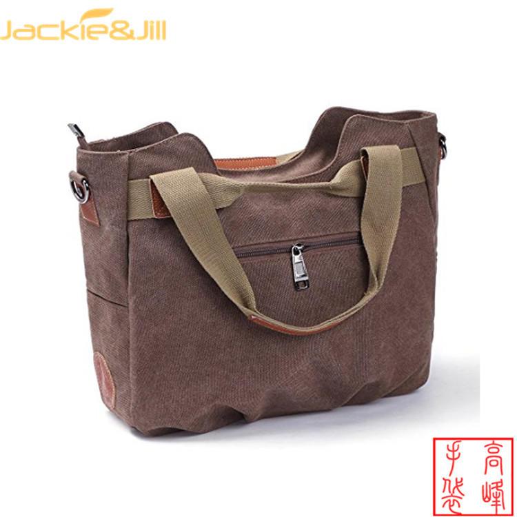 2020 new fashion canvas handbags lady multi travel hand bags women large capacitybags single Harajuku style shoulder bag