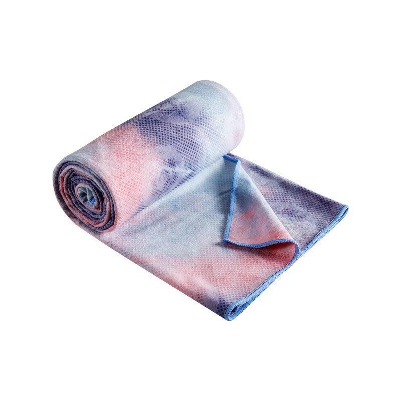 Yoga blanket fitness blanket towel non slip towel yoga mat cloth sweat absorbing blanket yoga towel