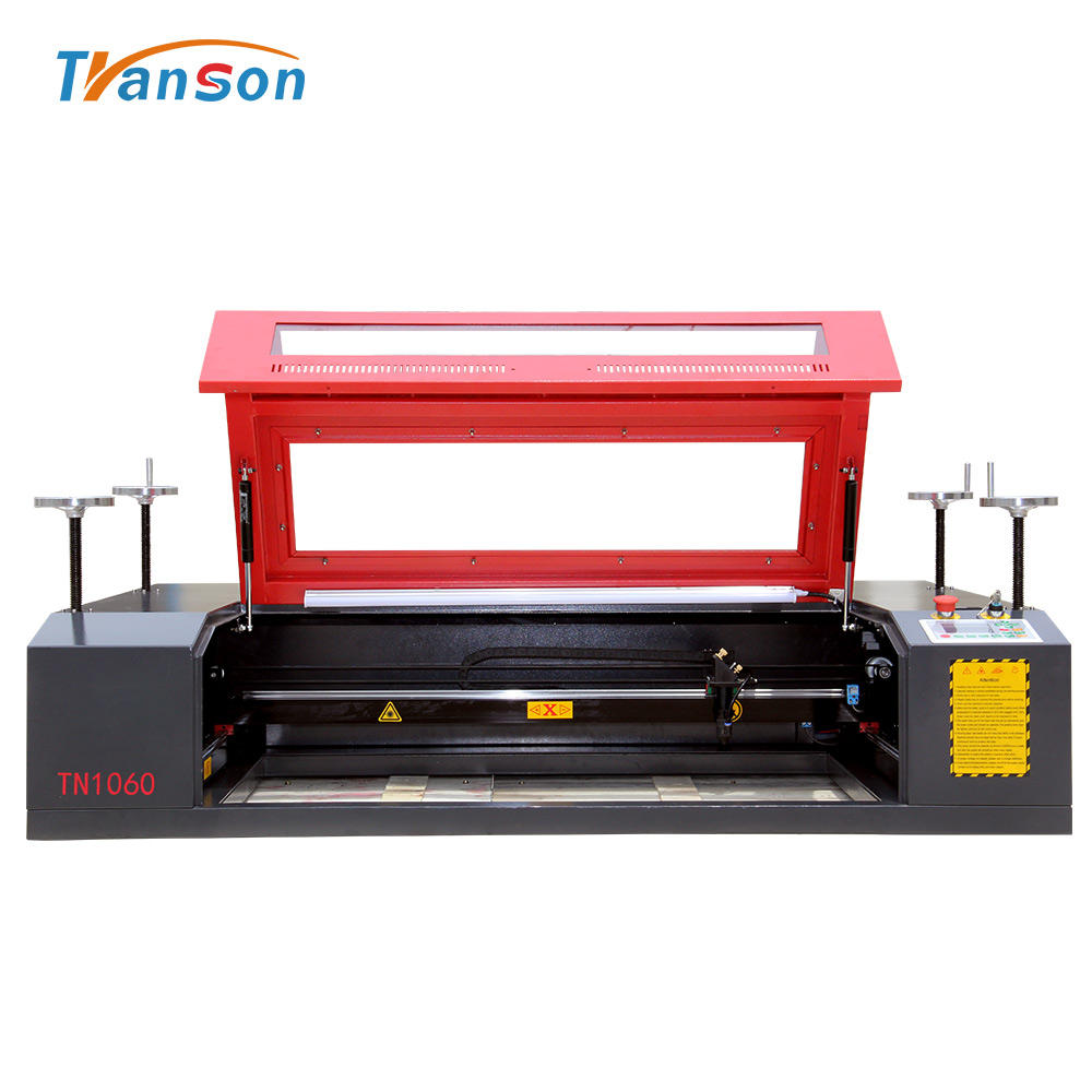 China best TS1060 Stone 100 watt co2 Laser Engraving Machine glass tube laser