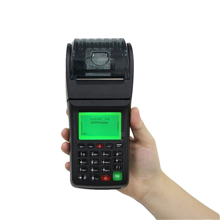 Mobile GPRS /WIFI thermal Receipt Printer for Bill Payment , Electric charge, Gas charge,etc..