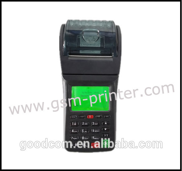 Bus Ticket Wireless Printer Connect with the Server via WIFI or GPRS Print Bus Ticket