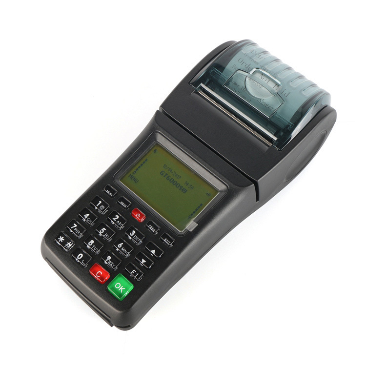 Online Restaurant Order Printing GSM GPRS Terminal with Thermal Printer WiFi