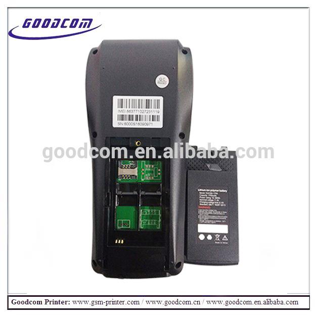 GOODCOM GT6000SW Wifi handheld pos terminal pos device for restaurant ordering machine
