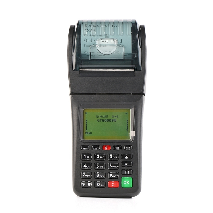 Multi-languaged supported WIFI GPRS Portable Restaurant Online order printer