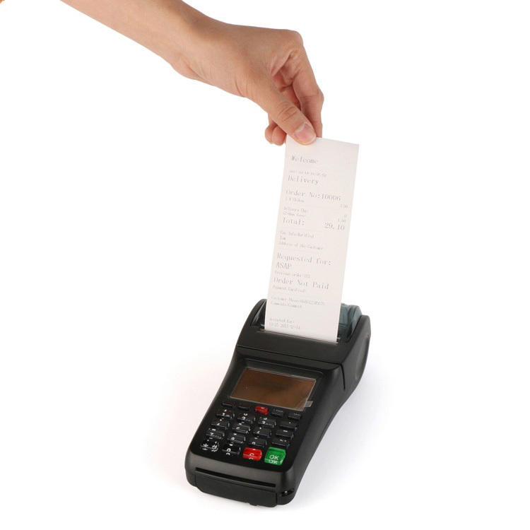 Manufactory Handheld GPRS SMS Wifi POS Printer for Mobile Money