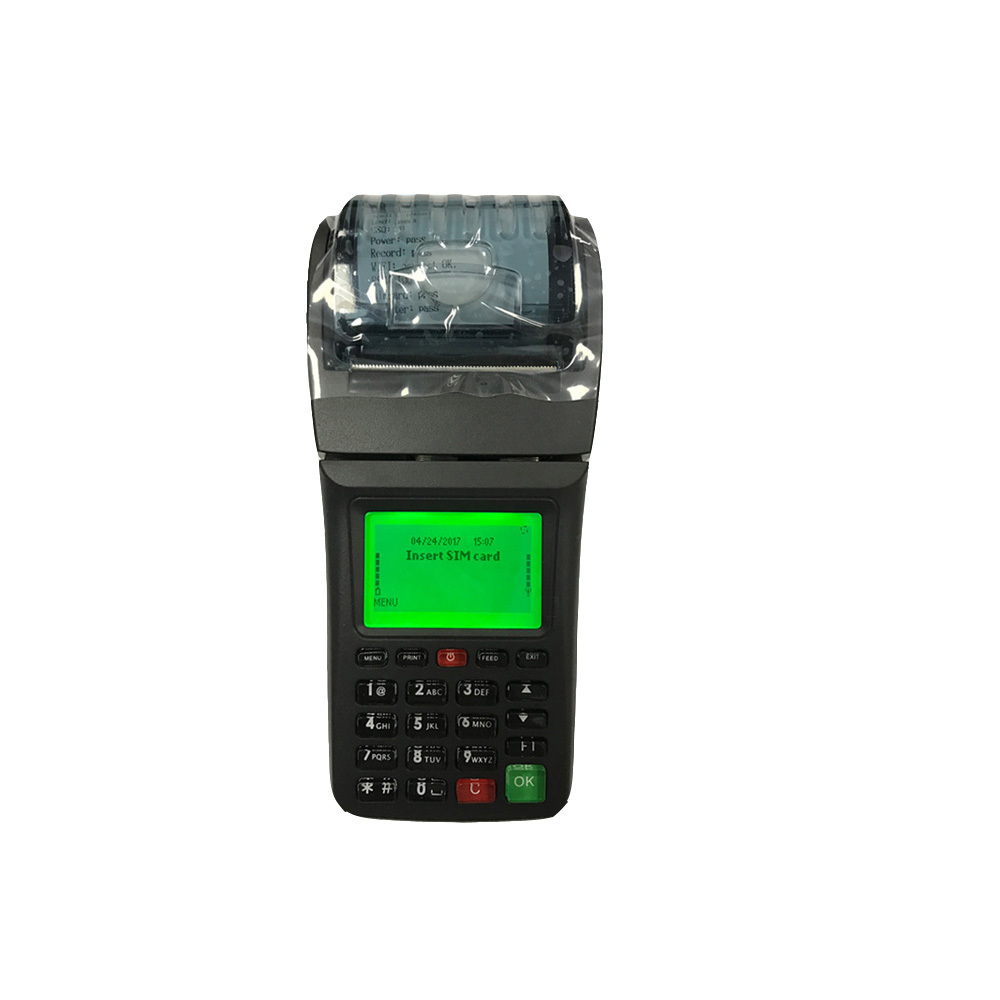 Bus Ticketing Machine with Printer Support Printing Bus Ticket Online or Offline