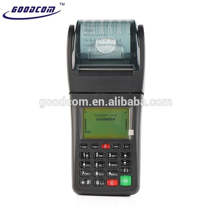 GOODCOM GT6000SW Wireless Lottery Ticket Print Pos Machine with WIFI and SIM Card