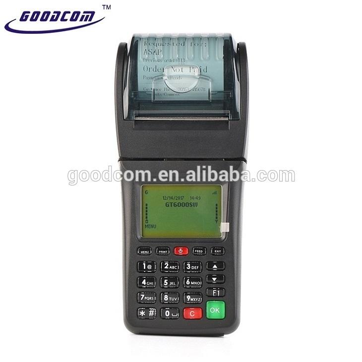 GOODCOM GT6000SW Wireless Lottery Ticket Print Pos Machine with WIFI and SIM Card-Goodcom