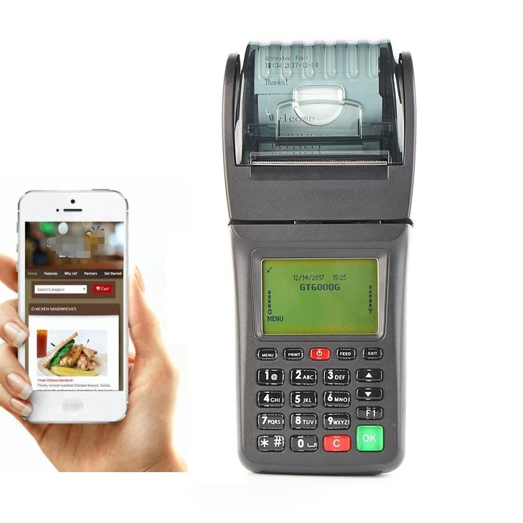 GOODCOM Thermal Receipt Printer Portable 3G WCDMA POS for Restaurant Online Food Takeaway