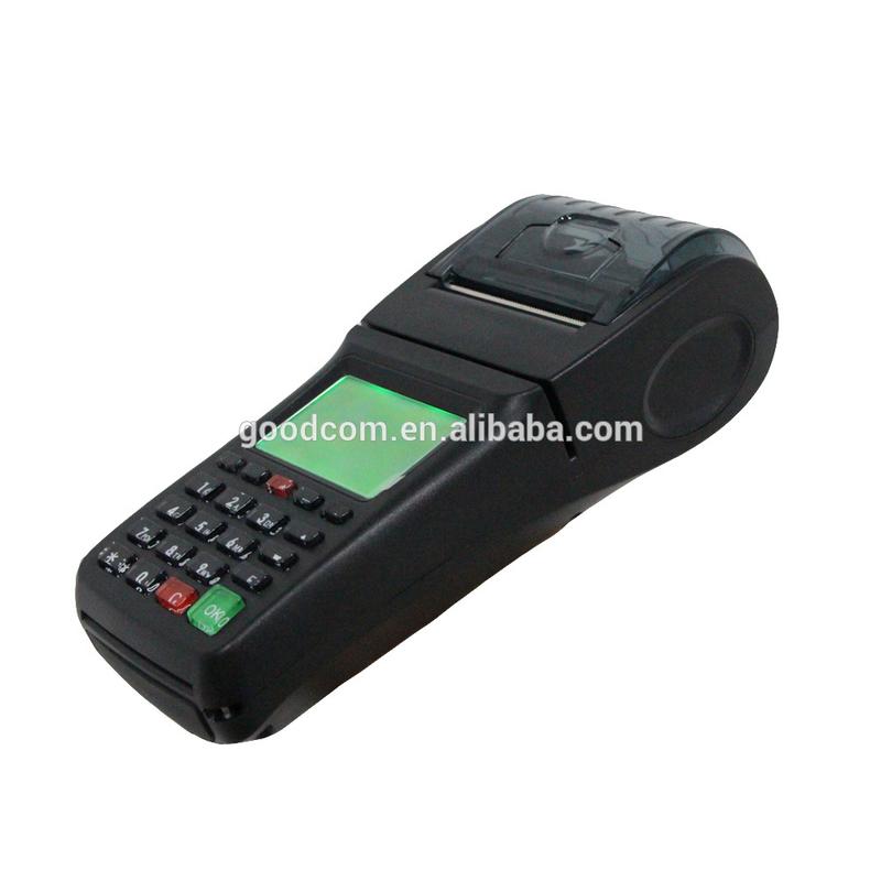 GT6000SW GOODCOM Portable Handheld Printer for wireless restaurant ordering system