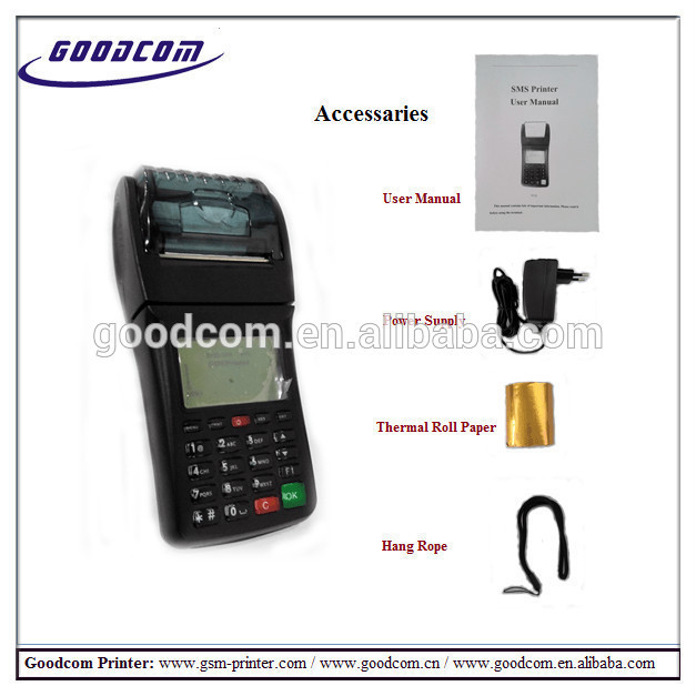 Arabic Supported Thermal POS Receipt Printer, GPRS WIFI communicated for food online takeaways, mobile payments,etc..