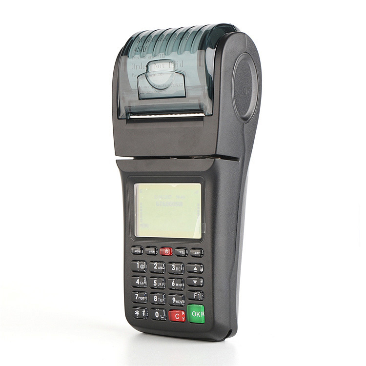 Portable Handheld GPRS WIFI Ticket Printer for Car Parking System