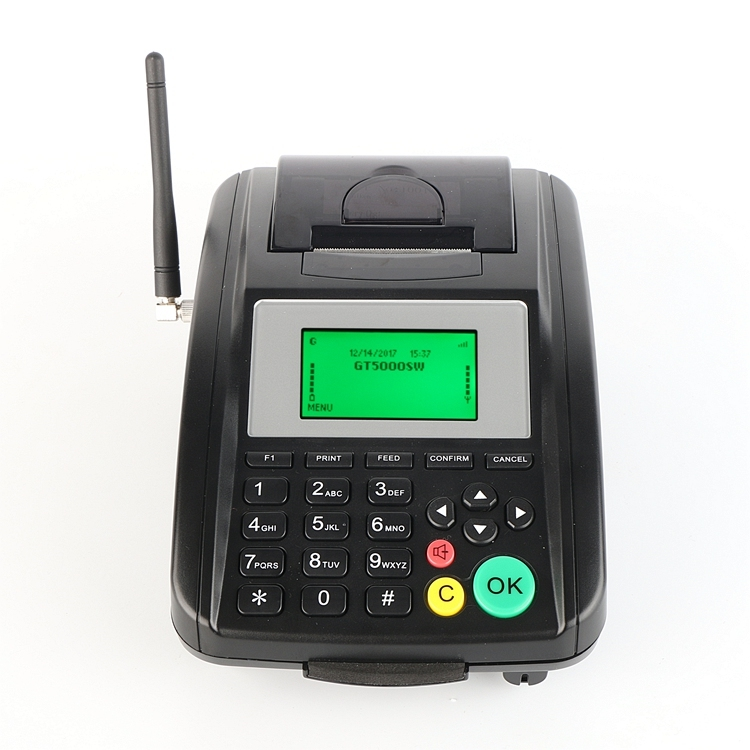 GOODCOM GPRS Email Printer Support Printing Email Orders from Server