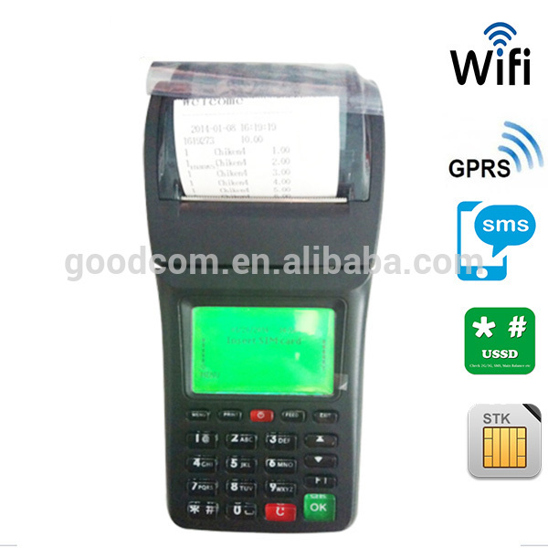 Bill machine for restaurant food delivery WIFI GPRS printer