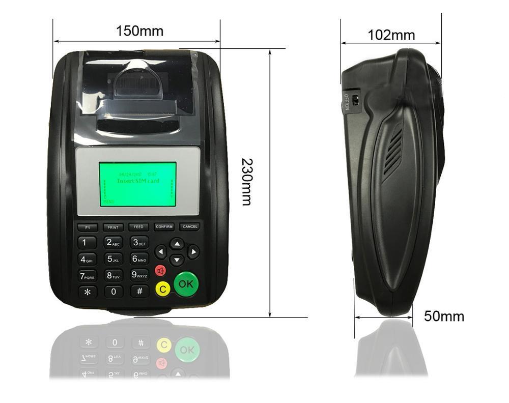 Goodcom GT5000W 58mm Wifi Email Thermal Receipt Printer