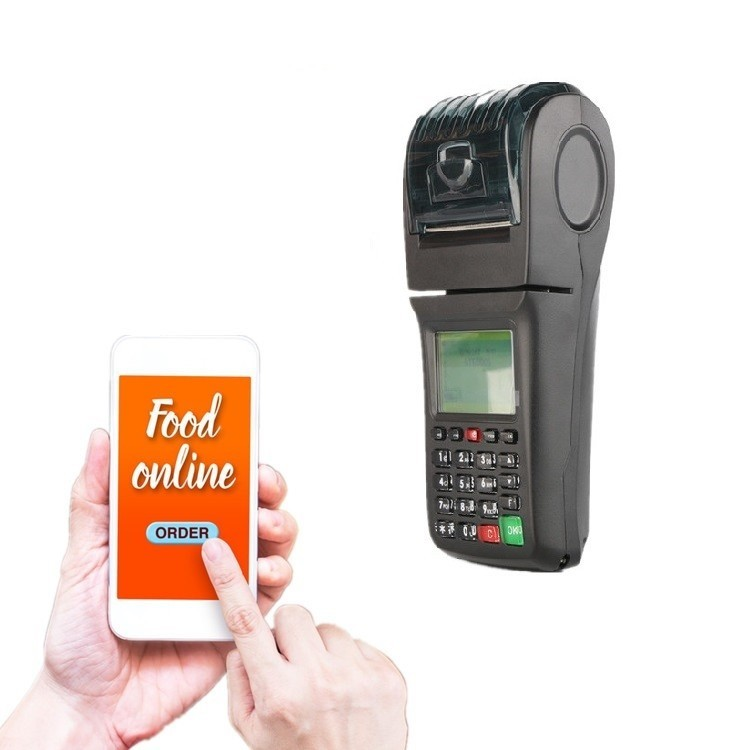 12% OFF Now WIFI GPRS SMS Wireless thermal Printer for Restaurant and Food order Takeaway online ordering