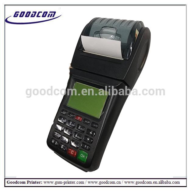 GOODCOM GT6000GW The 3G wifi hot handheld Portable pos terminal with pos printer