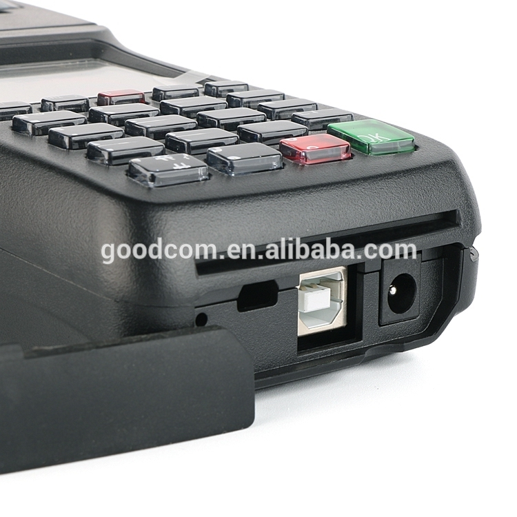 Portable Handheld Mobile Top Up Pos System with Thermal Vouchre Printer
