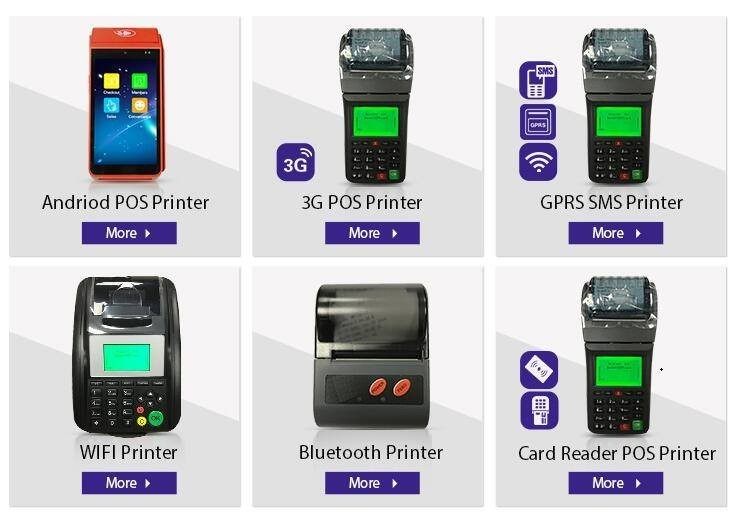 WIFI & GPRS Thermal Printer with Online Ordering Software