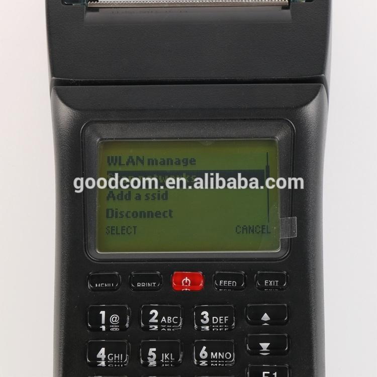 Wifi GPRS SMS Handheld Pos Terminal Restaurant Food Ordering Machine