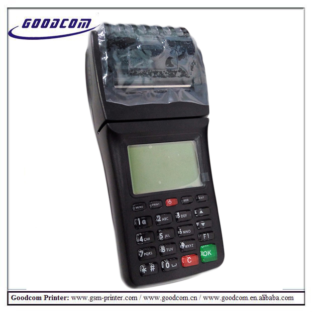 GOODCOM GT6000GW One SIM Card STK Supported GSM SMS Printer 3G wifi for Airtime Vending Vouchers and retail online shopping