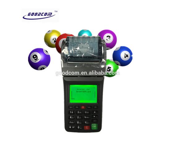 Mobile 3G POS Printer, WIFI Thermal Betting Machines