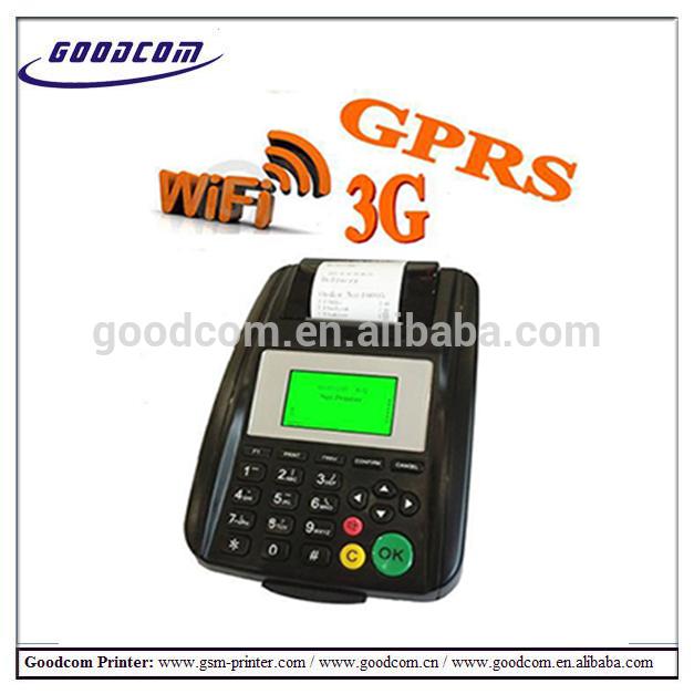 GOODCOM GT5000W GPRS/WiFi Linux Bank POS