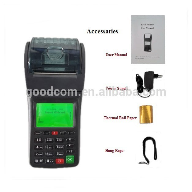 Customizable handheld parking ticket machine, food delivery by default for receiving food orders form phone or website