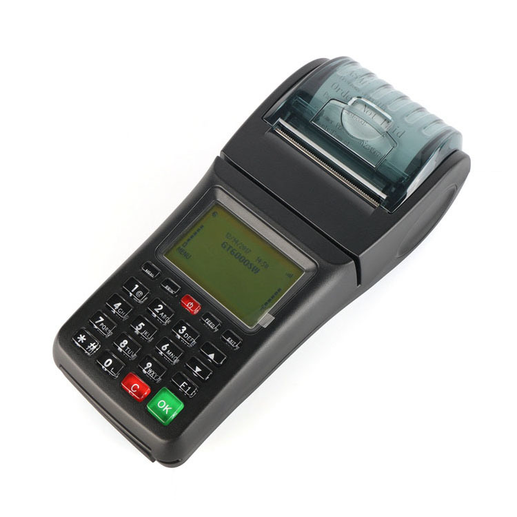 Wifi GPRS SMS Handheld Pos Terminal Restaurant Food Ordering Machine